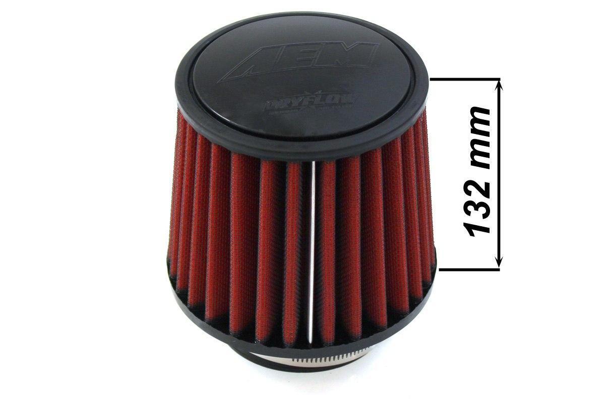 Filtr stożkowy AEM 21-204DK 80-89MM